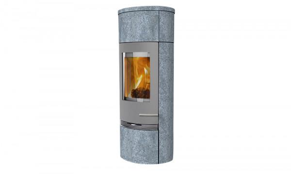 Kaminofen TermaTech TT20Rs Heat Storage Speckstein grau, 5 kW