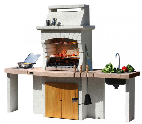 Grillkamin Sunday® TUNISI CRYSTAL
