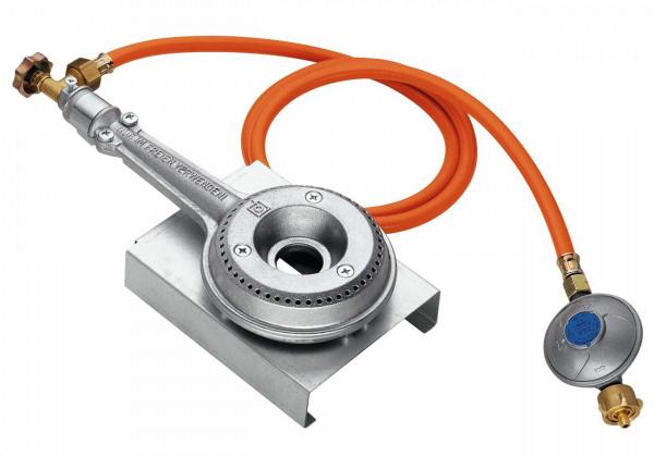 Peetz regelbare Gasheizung 4200 W, inkl. Umbauset Gaskocher