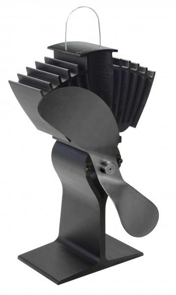 Kaminofen Ventilator Ecofan 812 XBX AirMax, schwarz-schwarz