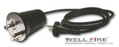 Elektromotor 220 V für Grillspieß von Wellfire