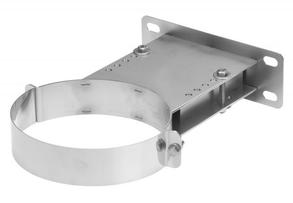 Wandhalter verstellbar 160-250 mm Edelstahl doppelwandig - eka chromos D 25
