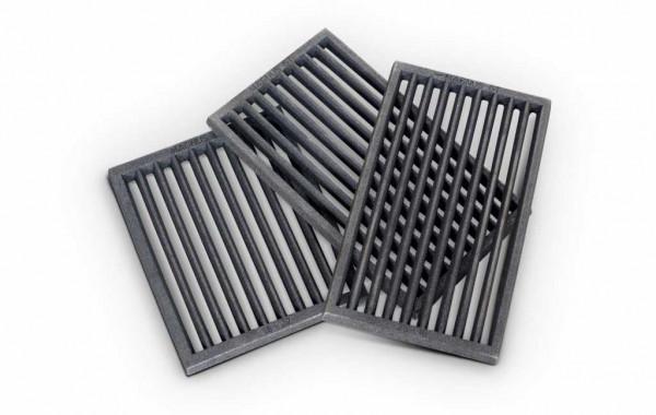 Ofenrost RP1 Gusseisen schwarz, 16 x 28 x 1,5 cm