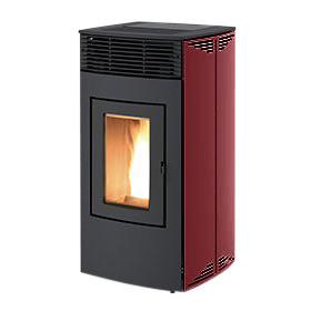 Pelletofen RED LOTO Metall Multiair, 14 kW