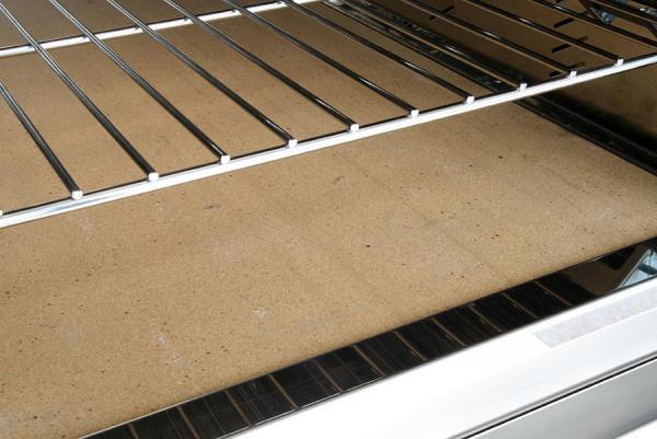 Pizzaunterlage aus Schamottestein für MCZ 80 Holzbackofen