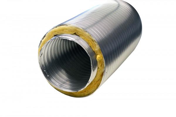 Aluflexrohr isoliert 1,2 m 5-lagig