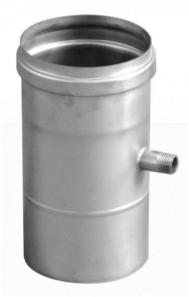 Schornsteinrohr Edelstahl 250 mm einwandig Ablauf senkrecht - eka complex E