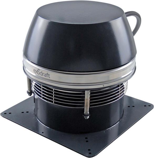 Rauchsauger Exodraft RSHT 016 horizontal. Hochtemperaturbeständig
