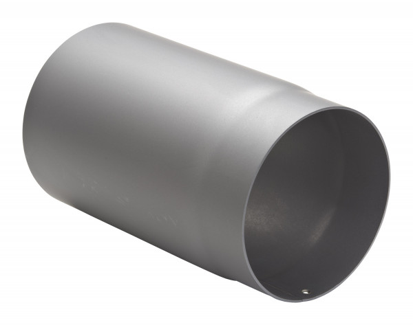 Rauchrohr Stahl 250 mm hellgrau
